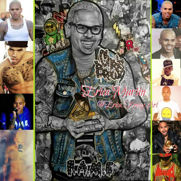 Chris Brown por EricaMartin